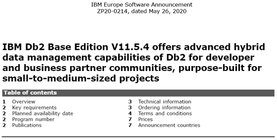 IBM Announcement ENUSZP19-0081