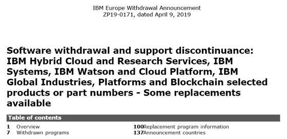 Informix Announcements