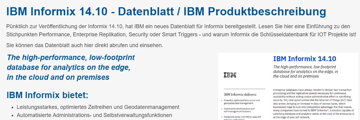 Informix News